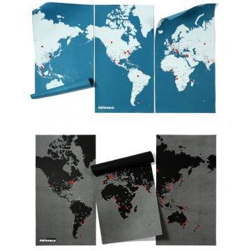 Mapa Pin World XL