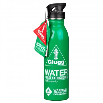 Garrafa para água extintor verde