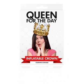 Coroa insuflável Queen