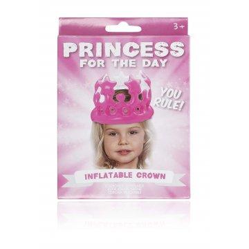 Coroa insuflável Princess