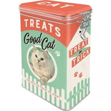 Caixa Metálica com fecho Good Cat