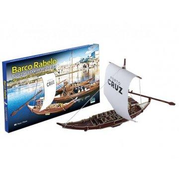 Puzzle 3D Barco Rabelo